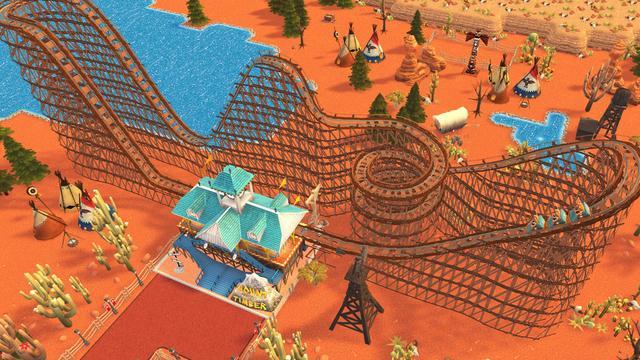 Rollercoaster Tycoon in november beschikbaar op Nintendo Switch