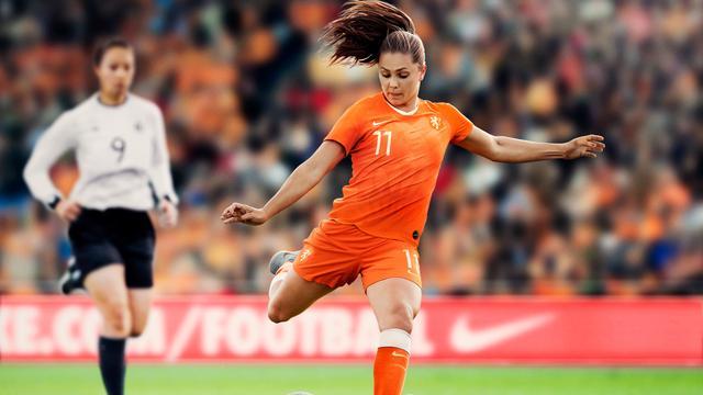 Nike onthult tenue Oranjevrouwen voor WK in Frankrijk