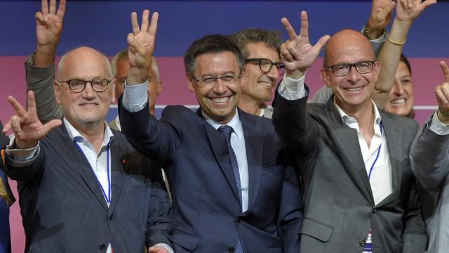 Bartomeu herkozen als voorzitter van FC Barcelona