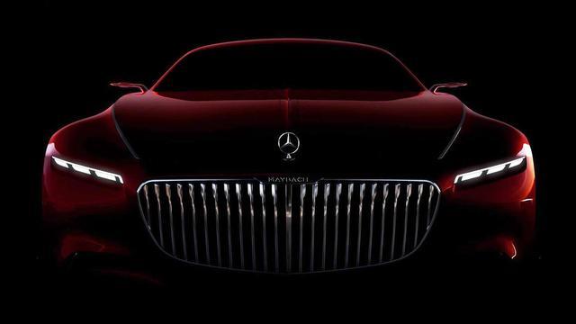 Klaar voor onthulling: Vision Mercedes-Maybach 6