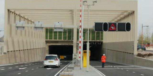 Brandveilig maken van Stadsbaantunnel loopt maanden vertraging op