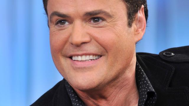 Donny Osmond kampt met poliep