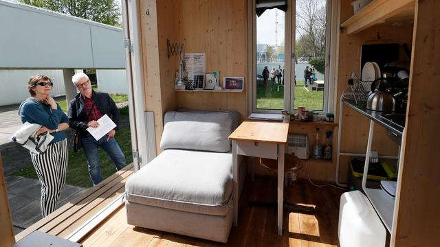 Vertraging Tiny House project Haarlem opgelost