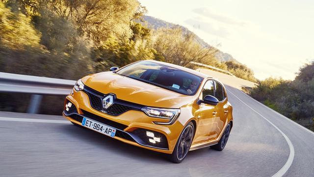 Nieuwe Renault Mégane R.S. in mei in Nederland