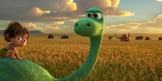 Recensie: Nieuwe Pixar-film The Good Dinosaur is een beetje te braaf