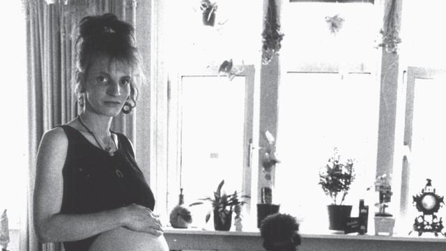 Een van Herlyns cliënten in de jaren tachtig: de Duitse Michaela. 'Haar kindje is bij familie terechtgekomen.'
