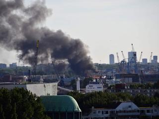 Brand woedde op stortplaats van huisraad van 40 bij 20 meter