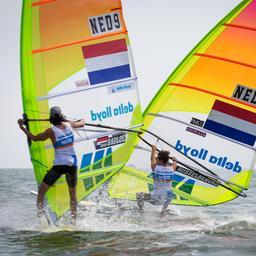 Van Rijsselberghe heeft top tien in zicht na derde dag WK
