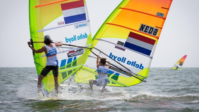 Van Rijsselberghe heeft medalrace in zicht na derde dag WK