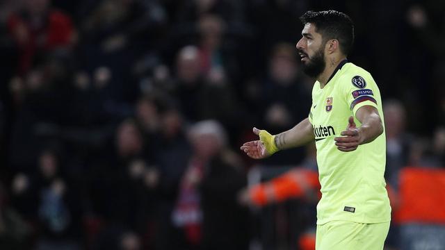 Suárez verwacht na debacle storm van kritiek op 'schooljongens' Barcelona