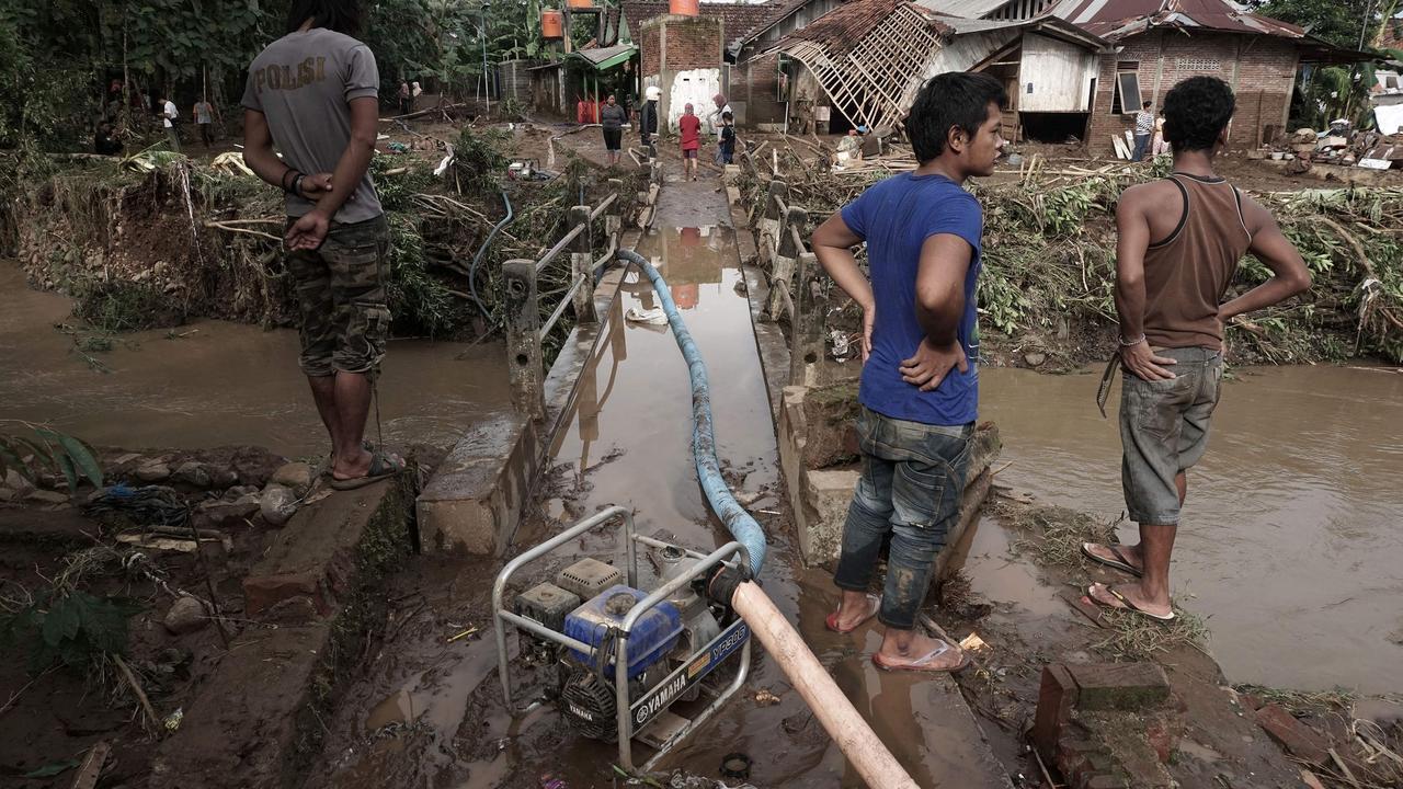 Dodental overstromingen Indonesië loopt op