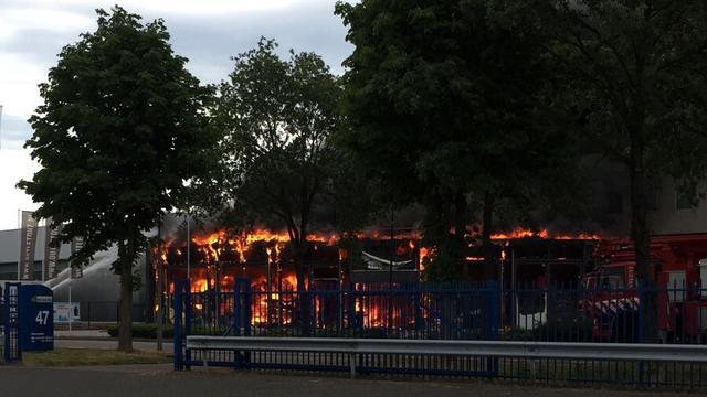 Winkel in Valkenswaard compleet verwoest door brand