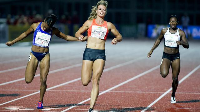Schippers wint 100 meter bij eerste optreden sinds WK
