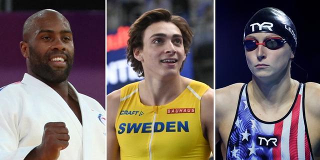 Dit zijn de grote buitenlandse sterren van de Olympische Spelen