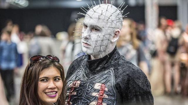 Sierlijke outfits tijdens Dutch Comic Con