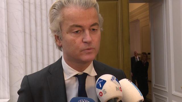Wilders pleit voor coalitie met zes partijen