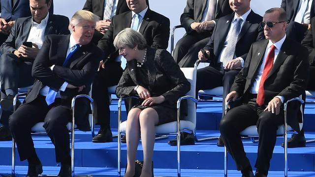 'Trump mag geen officieel staatsbezoek brengen aan Groot-Brittannië'