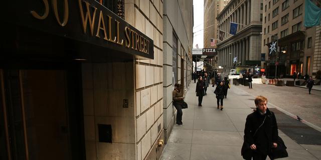 Wall Street start met winst