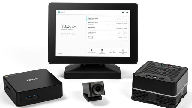 Google komt met zakelijke videovergadering-camera's