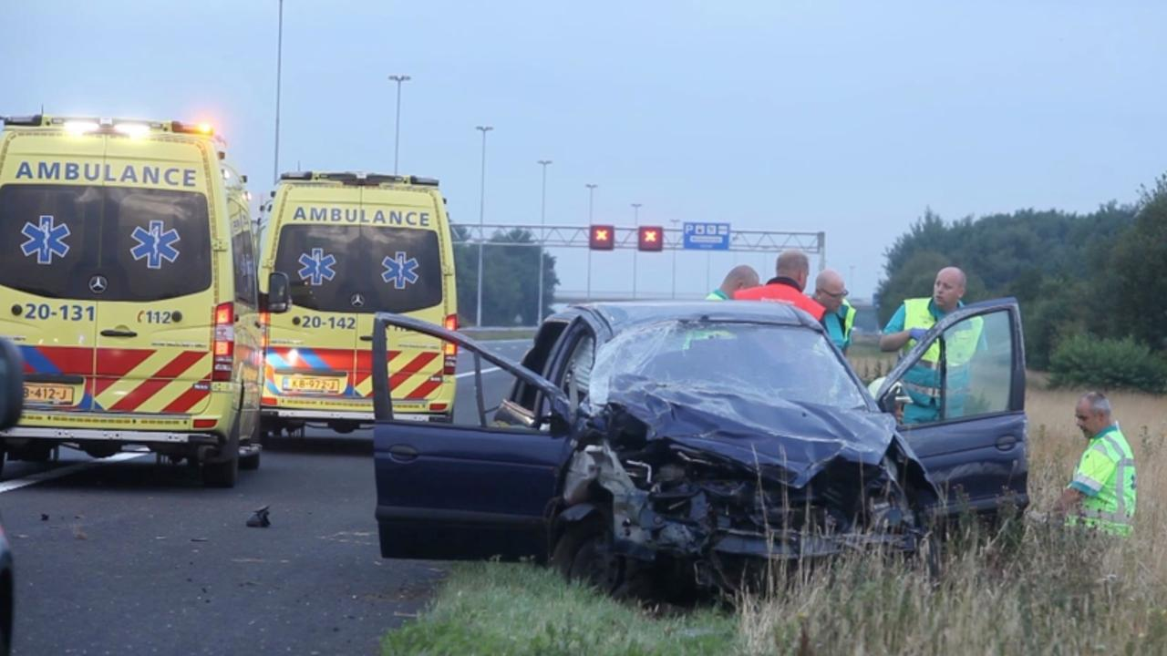 Dode na ongeluk op A58 bij Gilze-Rijen
