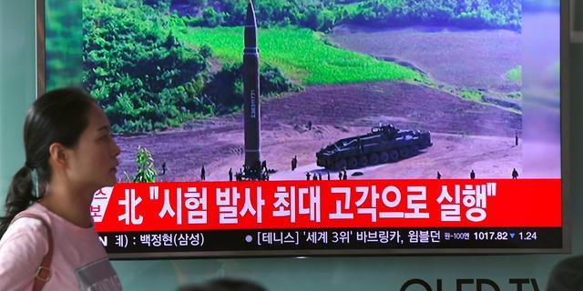'Noord-Korea test nieuw type intercontinentale raket'
