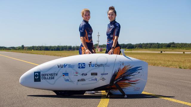 Nederlandse studenten winnen WK snelfietsen in VS