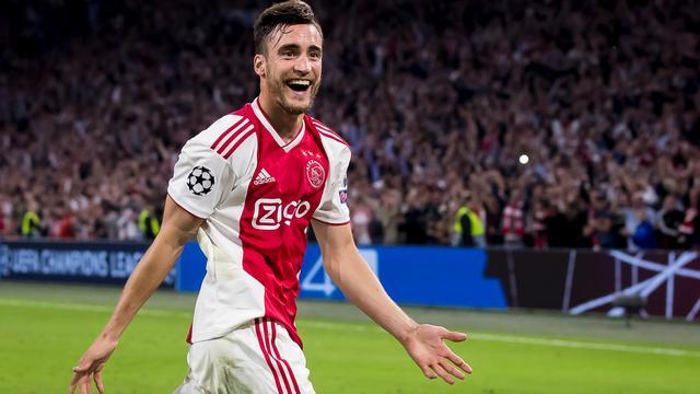 Ajax-uitblinker Tagliafico: 'Mijn tweede goal was eigenlijk voorzet'