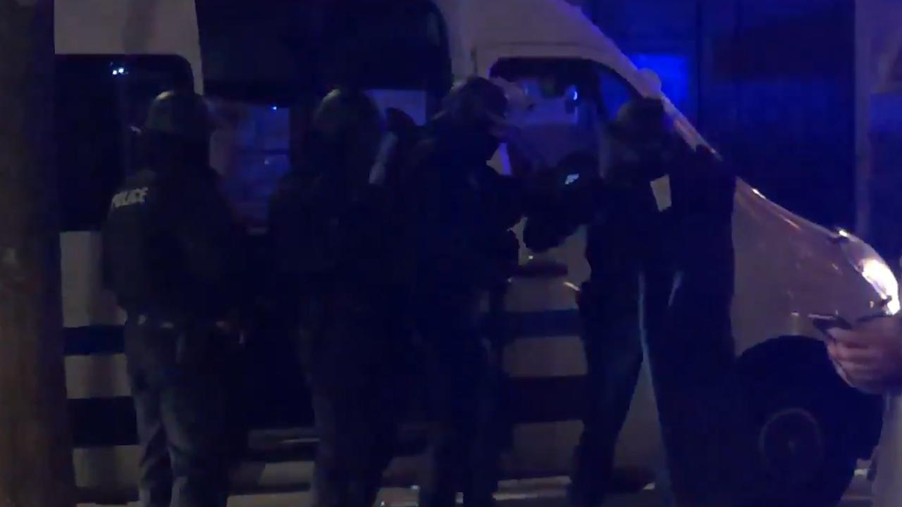 Zwaarbewapende agenten op de been in Straatsburg