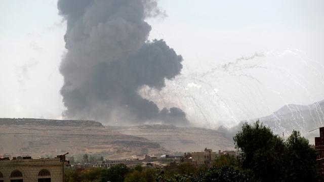 Tientallen doden door luchtaanvallen Jemen