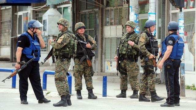 Europese Commissie bezorgd over geweld Macedonië
