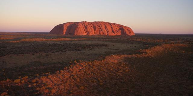 Google verwijdert foto's van heilige Australische rots uit Street View