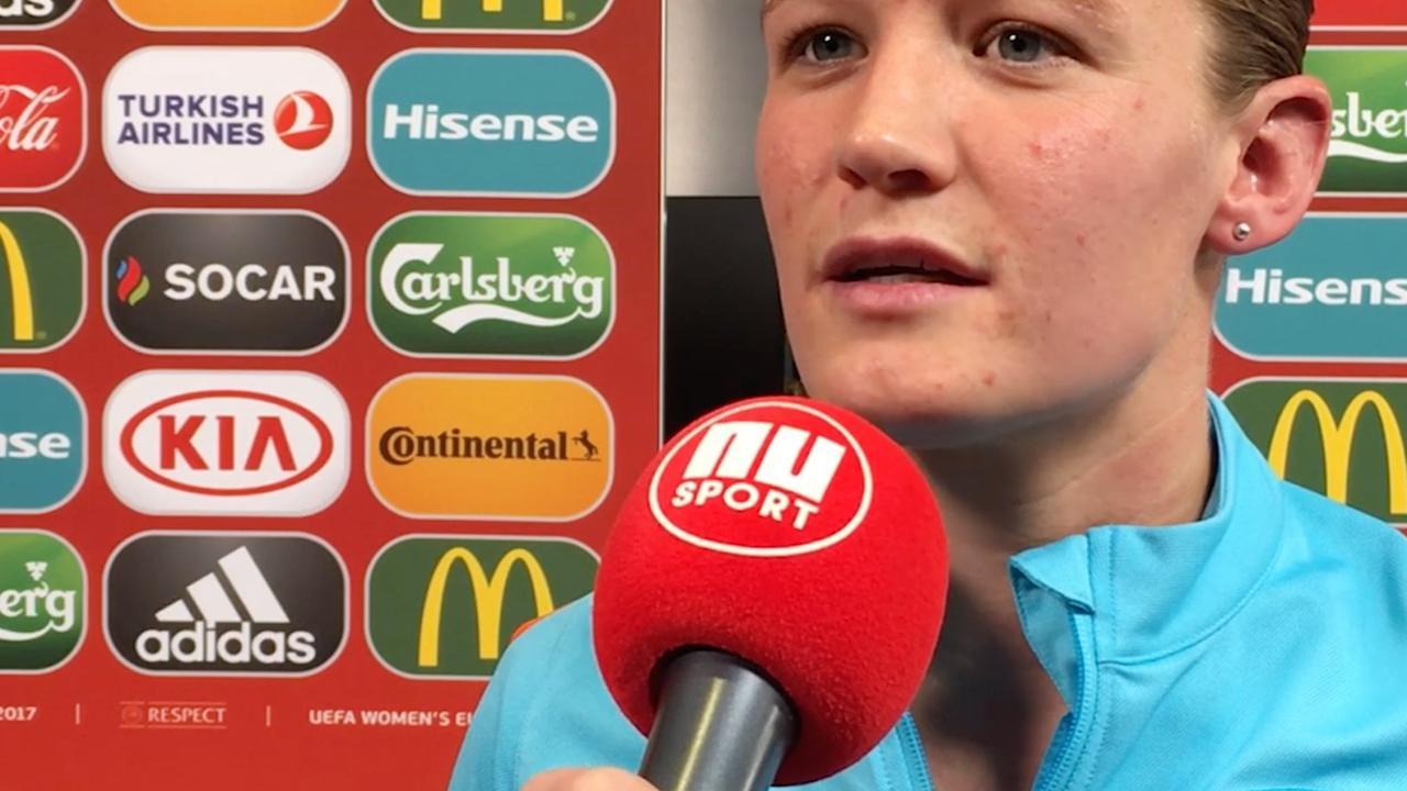 Van den Berg: 'Ik ben er voor het team en dat is het belangrijkst'
