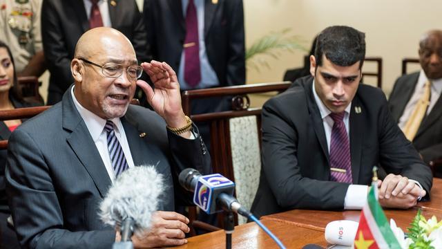 Desi Bouterse krijgt tweede ambtstermijn als president Suriname