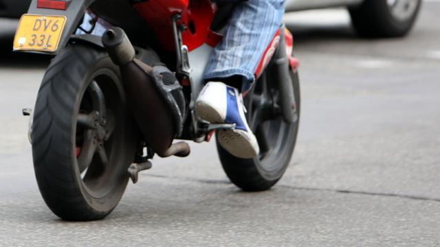 Vijftien bekeuringen voor scooterrrijders