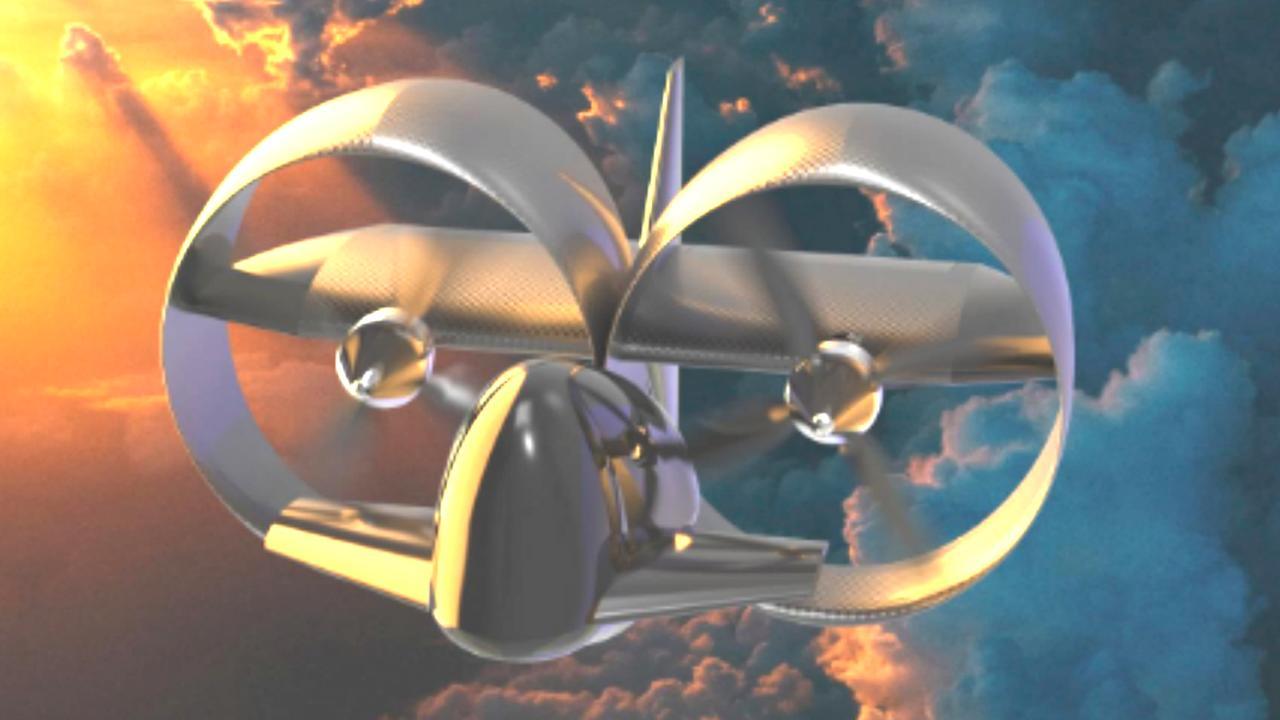 Studenten van TU Delft ontwerpen elektrisch eenpersoonsvliegtuigje