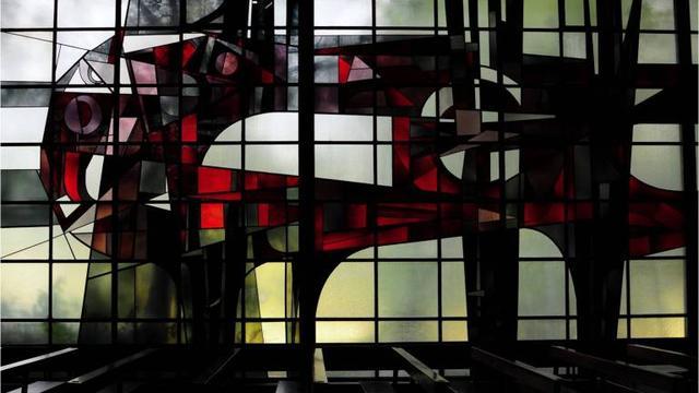 Werkgroep zoekt locatie voor Bergens monumentaal glas-in-loodraam