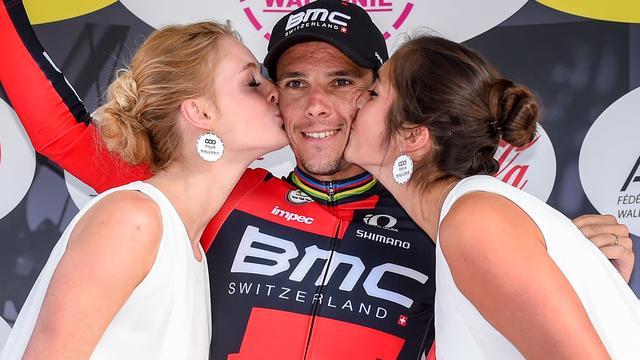 Gilbert wint derde rit in Wallonië, Terpstra behoudt leiding