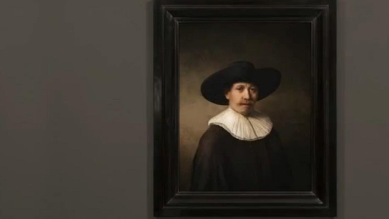 'Nieuwe Rembrandt' gemaakt op basis van algoritmes