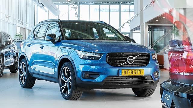 Volvo XC40 verkozen tot Auto van het Jaar 2018