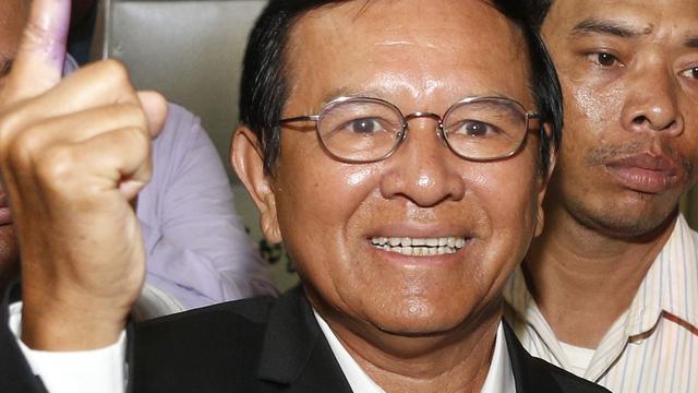 Oppositieleider Cambodja verdacht van verraad