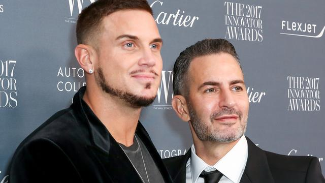 Modeontwerper Marc Jacobs getrouwd in New York