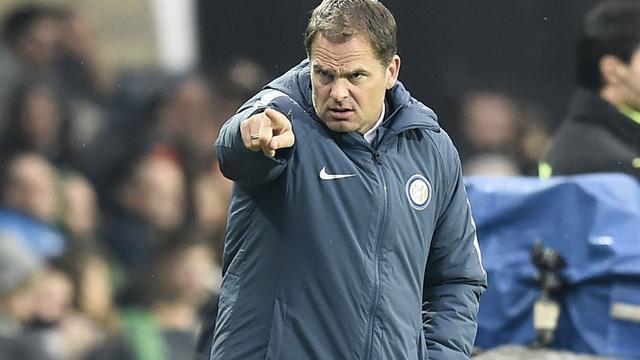 De Boer is niet bang voor ontslag bij Inter ondanks slechte reeks