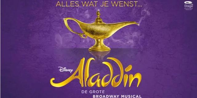 Musical Aladdin met staande ovatie ontvangen tijdens galapremière