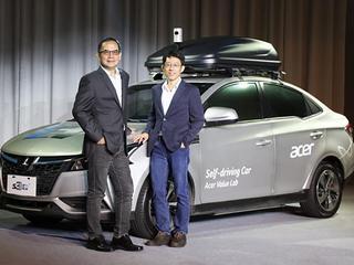 Software van Acer maakt elektrische auto zelfrijdend