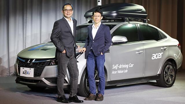 Acer en Yulon Motor presenteren conceptversie zelfrijdende auto
