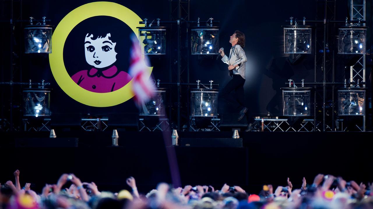 Bekijk het optreden van The Rolling Stones op Pink Pop