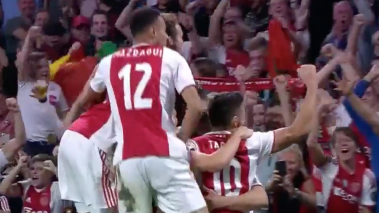 Samenvatting Ajax-AEK Athene (3-0)