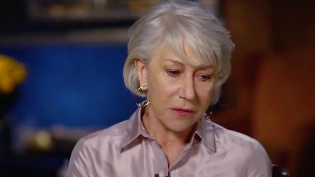 Helen Mirren spreekt over ervaringen met ongepast seksueel gedrag