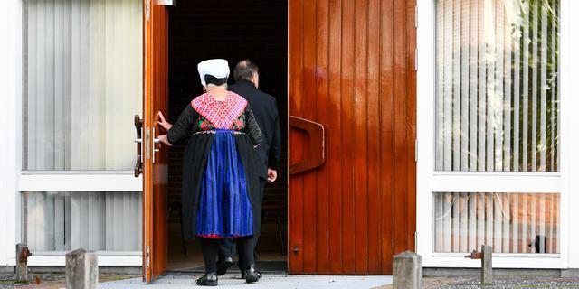 In opspraak gekomen kerk in Staphorst gaat minder bezoekers toelaten