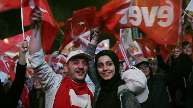 'Geen vervroegde verkiezingen Turkije na ja-stem referendum'